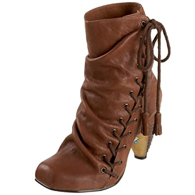 Irregular Choice Women's Wicked Western Boot,Brown,7 M US