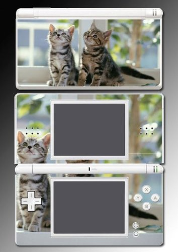 Cat Kitten Kitty Cute Pet Decal Cover Vinyl Skin Protector #2 for Nintendo DS Lite