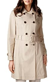 Per Una Pure Cotton Belted Trench Mac [T62-9713H-S]