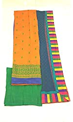 BEAUVILLE VAIIBAVAM Women's Unstiched Salwar Material (BVPCUC_48_Multi_Free Size)