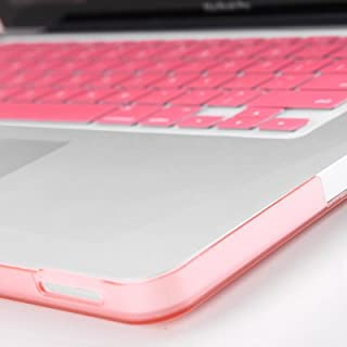 gmyle pink crystal hard shell case skin for macbook pro 13 inches 13 with pink protective keyboard cover