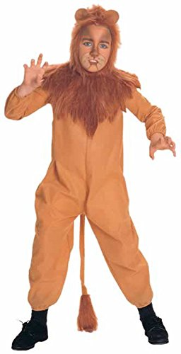 Child's Wizard of Oz Cowardly Lion Costume (Size: Small 4-6)