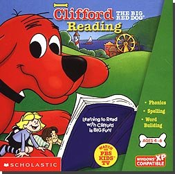 Scholastic Clifford Reading