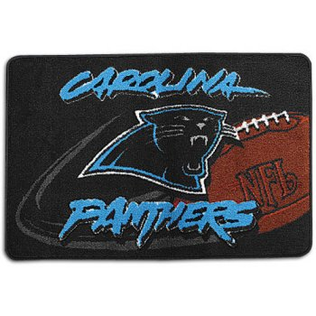Carolina Panthers Nfl Tufted Rug (30x20)