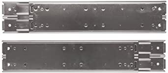 Sugatsune ESR-10 304 Stainless Steel Drawer Slide, Full Extension, Positive Stop (1 Pair)