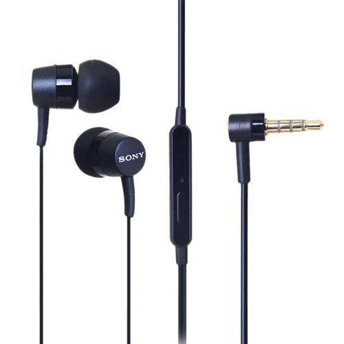 Sony MH750 Stereo Headset with Microphone and Answer/End Button for Cell Phones - Black (Bulk Packaging)