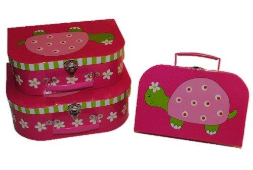 3 tlg. Set - Kinderkoffer in 3 Größen ! Schildkröte
