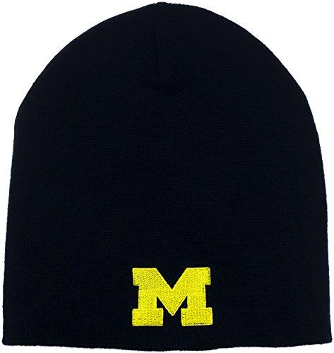 University of Michigan Wolverines Men's Dash Knit Beanie (Super Bowl Champions Winter Hat compare prices)