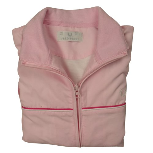 Ladies Ben Sherman Track Suit Top Jacket Womens Zip Sweat Fitness Gym Retro UK 8