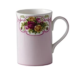 Royal Albert Rose Cameo Collectible Teas Mug, Pink