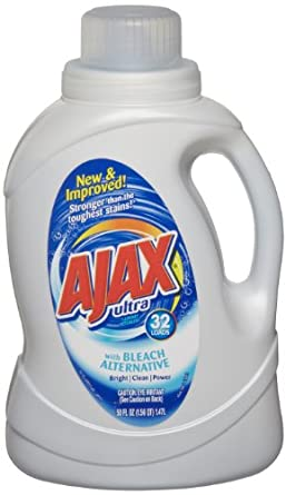 Ajax 49557 50 Oz. 2X Ultra Liquid Laundry Detergent with Bleach (Case of 6)