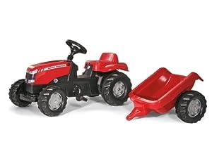 Massey Ferguson Kid Tractor with Trailer
