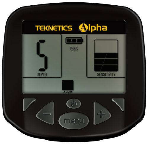"Teknetics ALPHA Metalldetektor ""Alpha 2000"""