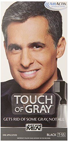 Touch of Gray Men's Hair Color, Black