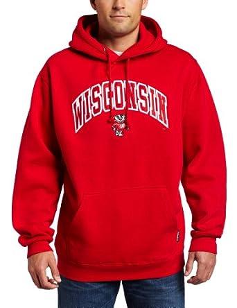Buy NCAA Wisconsin Badgers Dapp Hooded Sweatshirt by CI Sport