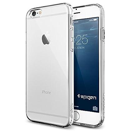 iPhone 6 ケース, SpigenR [ ソフト TPU ] Apple iPhone 4.7 (2014) カプセル The New iPhone アイフォン6 (国内正規品) (クリスタル・クリア 【SGP10940】)