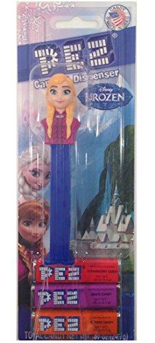 Pez Candy Dispenser: Disney Frozen Anna Blister Card