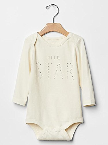 Gap Baby Organic Little Star Bodysuit Size Up To 7Lb