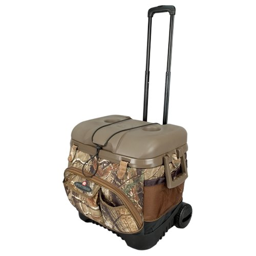 Cheapest Price! Igloo Cool Fusion 40 Quart Roller Cooler (Realtree Camo, 20.13 x 16.38 x 18.13-Inch)
