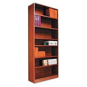 alera bcr78436mo radius corner wood bookcase