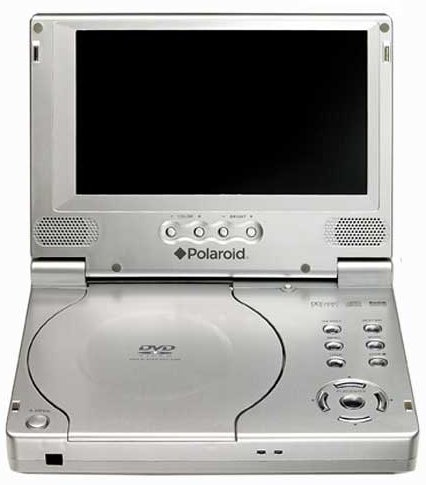 dvd players portable reviews polaroid pdv 0700 7 portable dvd player. Black Bedroom Furniture Sets. Home Design Ideas