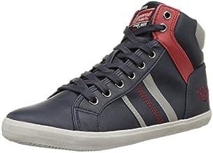 Kaporal Tomas, Sneakers Hautes homme, Bleu (Marine), 42 EU
