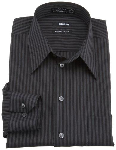 claiborne men 39 s long sleeve point collar dress shirt