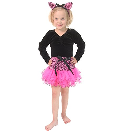 Pink Cat Tutu & Headband Set