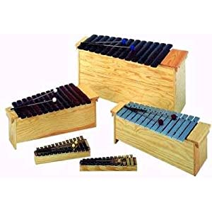 Set 3, 5 Studio 49 Orff Instruments (with Rosewood Xylophones)