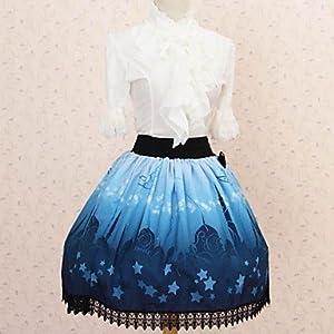 JJE Pretty Lolita Moonlight Aladdin Castle Princess Kawaii Skirt Lovely Cosplay , Female , XL