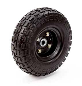 Farm & Ranch FR1030 10-Inch No-Flat Replacement Turf Tire for Hand Trucks and Utility Carts
