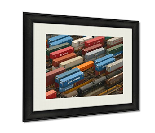 ashley-framed-prints-train-yard-black-20x25-art