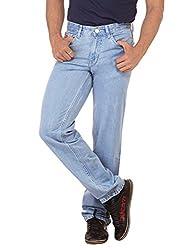 RACE-Q Light Blue Basic Jeans for Men