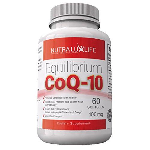 Faciles à avaler des gélules de Coenzyme Q10