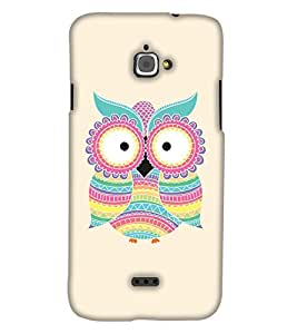 Print Haat Back Cover for Infocus M350 (Multi-Color)