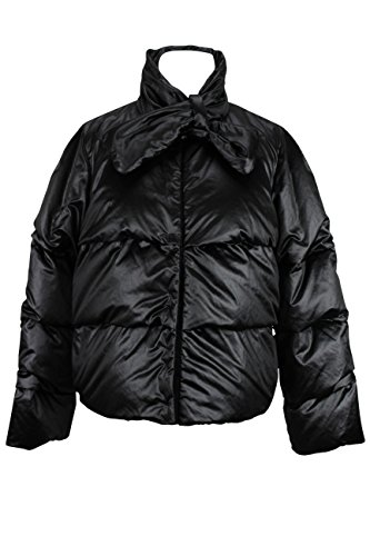paule-ka-womens-puffer-jacket-size-10-us-46-it-regular-black-polyester