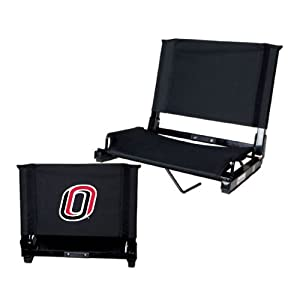 Nebraska Omaha Stadium Chair Black