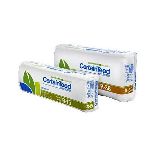 certainteed 990125 R38, 12 -Inch x 16 -Inch x 48 -Inch, Kraft Batt, Fiberglass Insulation 42.67 SQFT (Insulation R38 compare prices)