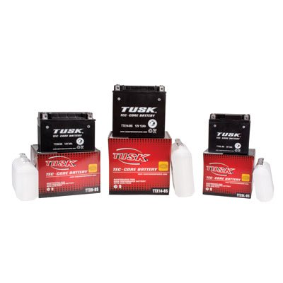 Tusk Tec-Core Battery with Acid TTX4LBS Maintenance-Free -Fits: KTM 450 SX-F 2007-2015 (Ktm Sxf 450 compare prices)