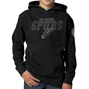 NBA San Antonio Spurs Playball Hoodie Jacket, Jet Black by