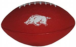 Buy NCAA Arkansas Razorbacks Football Foam with Team Logo by Game Day Outfitters