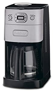 Cuisinart DGB-625BC Grind & Brew Coffeemaker, Brushed Metal, 12-Cup from Cuisinart