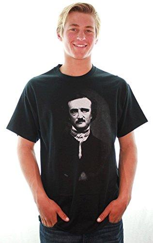 Edgar Allan Poe Portrait T-Shirt/Tee By Dsc - Medium front-245941