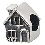 Everbling House Home Sweet Home Authentic 925 Sterling Silver Bead Fits Pandora Chamilia Biagi Troll Charms Europen Style Bracelets