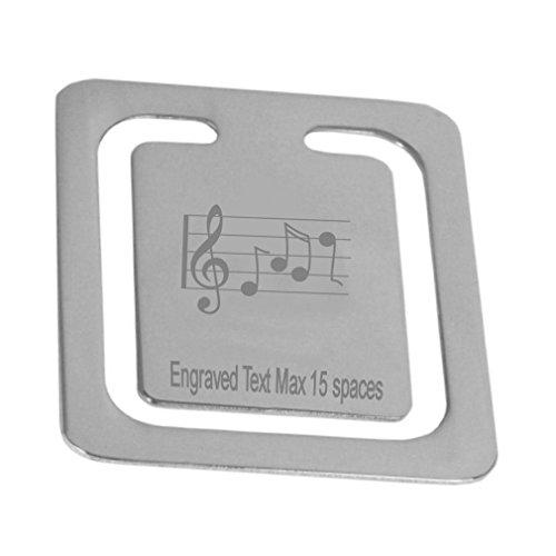 Gravierte-Violinschlssel-Musik-Lesezeichen-personalisierte-Logo-Seite-Lesezeichen-Boxed