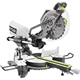 RYOBI TSS102L Sliding Miter Saw with Laser 15-Amp 10 in. (Color: Green)