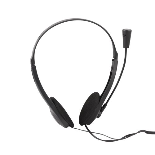 Ebest - Gaming Headset Headphone With Microphone Stereo For Computer Pc Skype Voip, Black