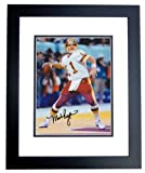 Mark Rypien Autographed Washington Redskins 8x10 Photo BLACK CUSTOM FRAME at Amazon.com