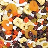 California Tropical Trail Mix - 5 lb. Zip Lock Pouch Bag by Treasured Harvest