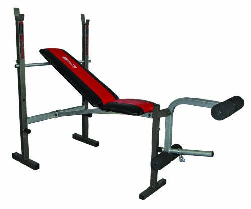 Barbell Bench Elite Fitness Deluxe Standard Weight Bench
